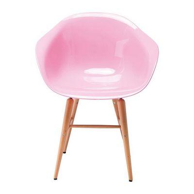 Kare Design - Chaise-Kare Design-Chaise avec accoudoirs Forum rose clair