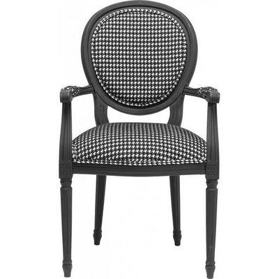 Kare Design - Chaise-Kare Design-Chaise avec accoudoirs Posh pepita