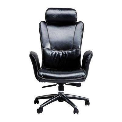 Kare Design - Fauteuil de bureau-Kare Design-Fauteuil de bureau Boss noir grand modèle
