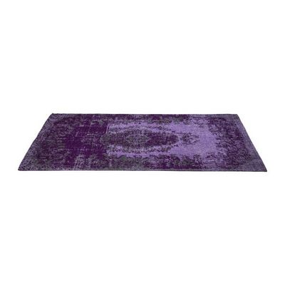 Kare Design - Tapis contemporain-Kare Design-Tapis Carré Kelim Pop violet 240x170