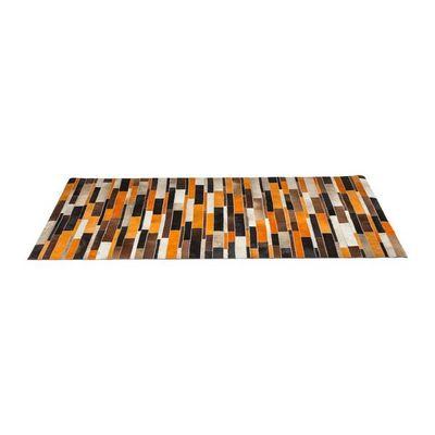Kare Design - Tapis contemporain-Kare Design-Tapis Design Brick orange 170x240cm