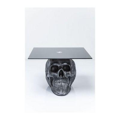 Kare Design - Table basse carr�e-Kare Design-Table basse Skull Rockstar by Geiss 60x60 cm