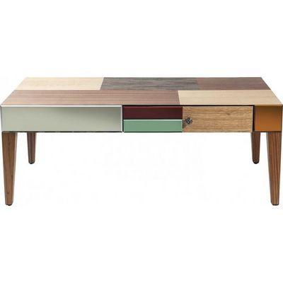 Kare Design - Table basse rectangulaire-Kare Design-Table basse en bois Metamorphosis