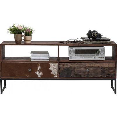 Kare Design - Meuble tv hi fi-Kare Design-Meuble TV Texas 2 tiroirs