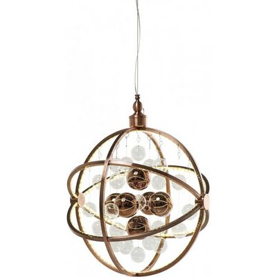 Kare Design - Suspension-Kare Design-Suspension Universum Copper LED