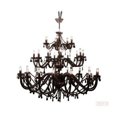 Kare Design - Lustre-Kare Design-Lustre Gioiello Crystal Feudal Noir