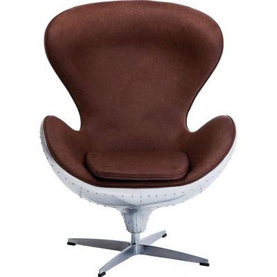Kare Design - Fauteuil rotatif-Kare Design-Fauteuil Pivotant Soho Big Boss Eco
