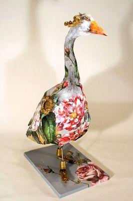 ARTBOULIET - Sculpture animalière-ARTBOULIET-Jazz in the garden