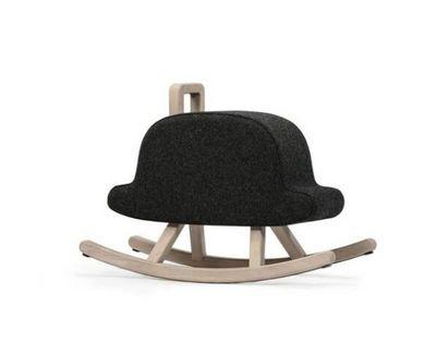 MAISON DEUX - Cheval à bascule-MAISON DEUX-Iconic Bowler Hat