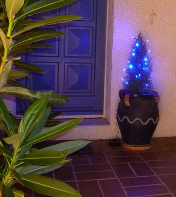 FEERIE SOLAIRE - Guirlande lumineuse-FEERIE SOLAIRE-Guirlande solaire 20 Leds Bleu