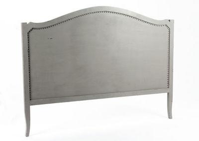 Amadeus - Tête de lit-Amadeus-Tête de lit grise en bois bayur Marine