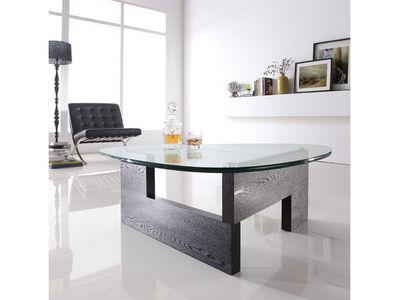 WHITE LABEL - Table basse forme originale-WHITE LABEL-Table basse VIVA - Transparent