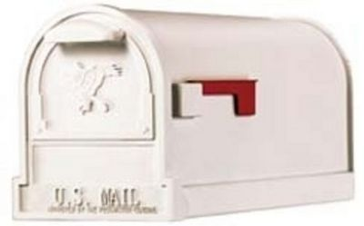 USMAILBOX - Boite aux lettres-USMAILBOX-Mailbox ARLINGTON blanc