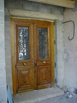 LHERMINETTE - Porte d'entrée vitrée-LHERMINETTE