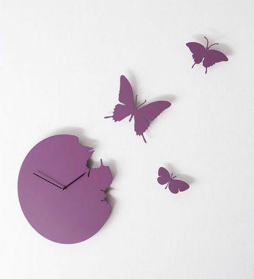 DIAMANTINI & DOMENICONI - Horloge murale-DIAMANTINI & DOMENICONI-Butterfly
