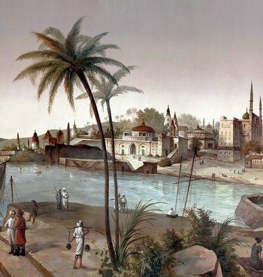 Ananbô - Papier peint panoramique-Ananbô-Bénarès