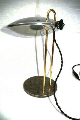 L'atelier tout metal - Lampe de chevet-L'atelier tout metal-esprit Streamline