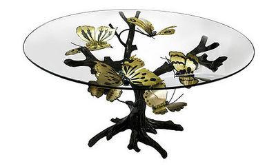 JOY DE ROHAN CHABOT - Table de repas ronde-JOY DE ROHAN CHABOT-L'arbre à papillons