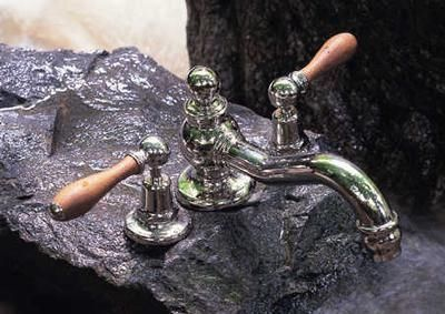 Volevatch - M�langeur bain 3 trous-Volevatch-Bec bain lyre