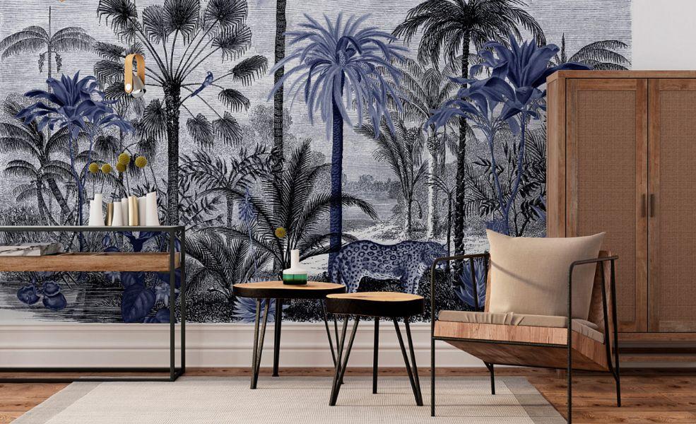 Lé  PAPIERS DE NINON Panoramic wallpaper Wallpaper Walls & Ceilings  |