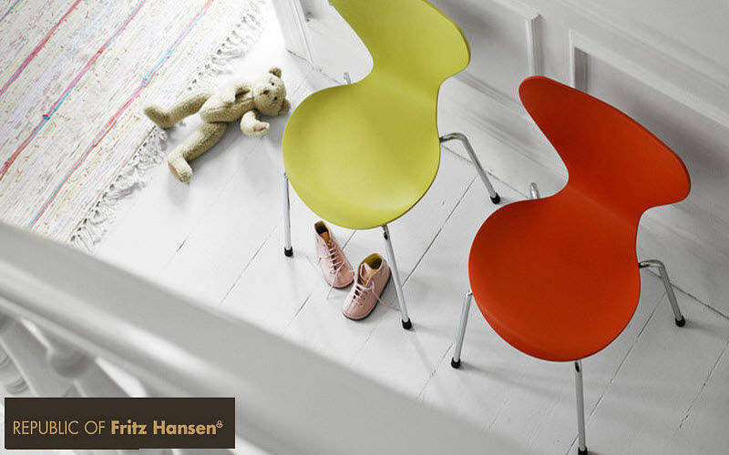 Fritz Hansen Children's chair Seats (Children) Children's corner Kid's room |