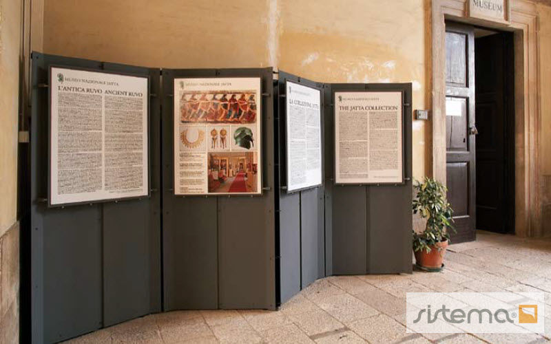 SISTEMA Display board with base Noticeboards and blackboards Office  |