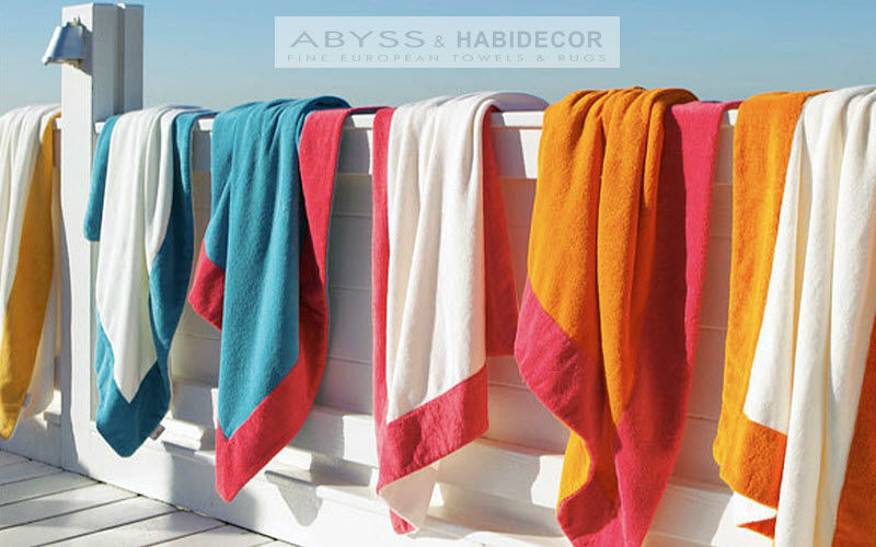 Abyss & Habidecor Bath towel Bathroom linen Household Linen Garden-Pool | Design Contemporary