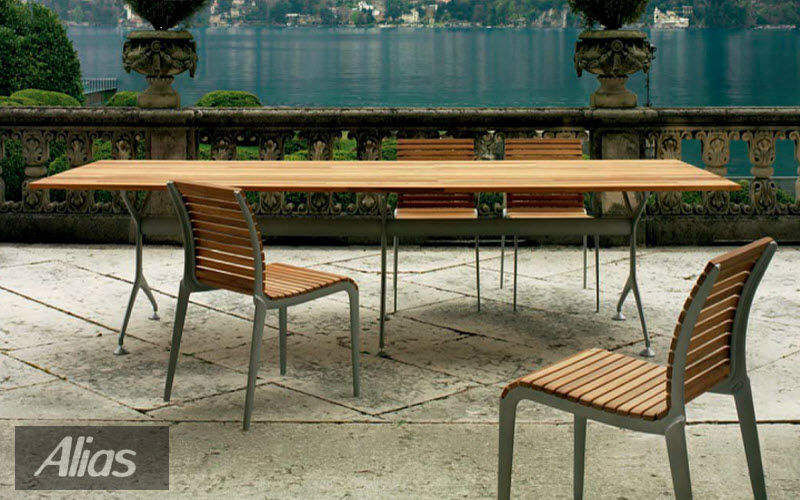 ALIAS Outdoor dining room Garden tables Garden Furniture Balcony-Terrace | Design Contemporary
