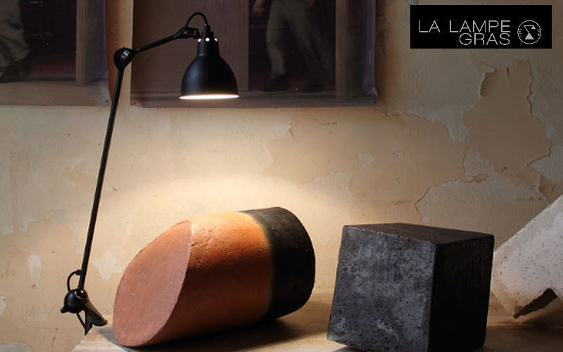 DCW EDITIONS Clip on light Lamps Lighting : Indoor  |