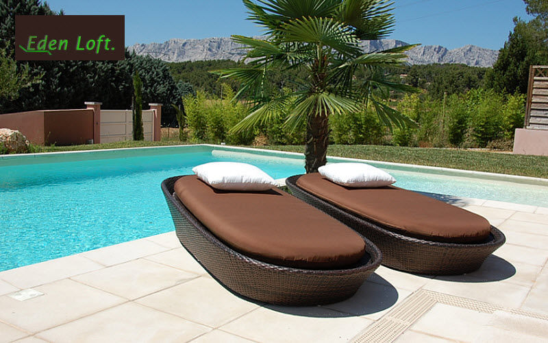 EDEN LOFT Sun lounger Garden chaises longues Garden Furniture Garden-Pool | Design Contemporary