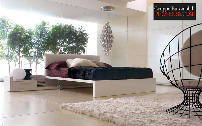 Gruppo Euromobil Double bed Double beds Furniture Beds Bedroom | Design Contemporary