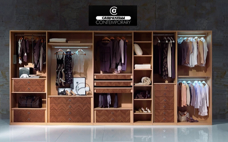 Carpanelli Bedroom Wardrobe Wardrobe Storage  |