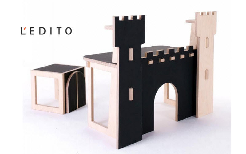 L'EDITO - Meubles sur Mesure Children's desk Children's Tables and desks Children's corner   