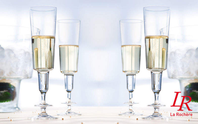 La Rochere Champagne flute Glasses Glassware Kitchen | Design Contemporary