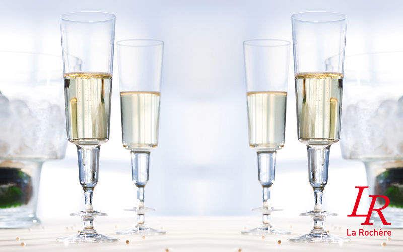 La Rochere Champagne flute Glasses Glassware Kitchen | Design Contemporary