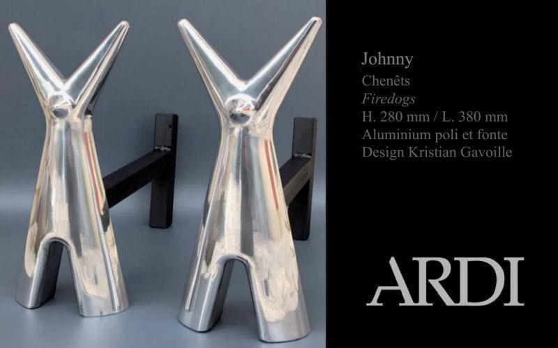 Ardi Andiron Fireside accessories Fireplace  | Design