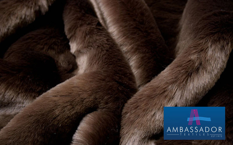 Ambassador Textiles Fake fur Furnishing fabrics Curtains Fabrics Trimmings  |