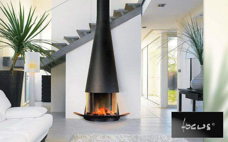 Focus Closed fireplace Fireplaces Fireplace Living room-Bar | Design Contemporary