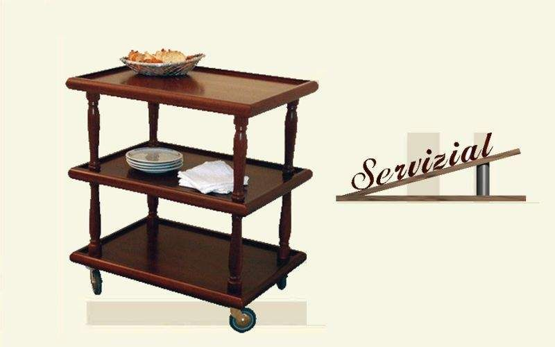 Servizial Serving trolley Chariots and tables on wheels Tables and Misc.  |