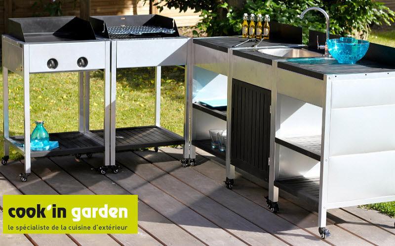 COOK'IN GARDEN Outdoor kitchen Fitted kitchens Kitchen Equipment   
