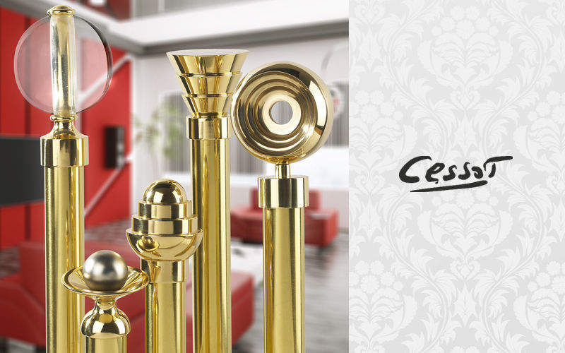 Cessot Décoration Curtain rail Rods & accessories Curtains Fabrics Trimmings  |