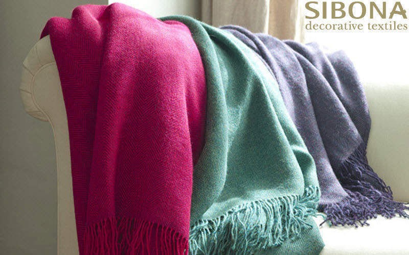 Sibona Tartan rug Bedspreads and bed-blankets Household Linen   