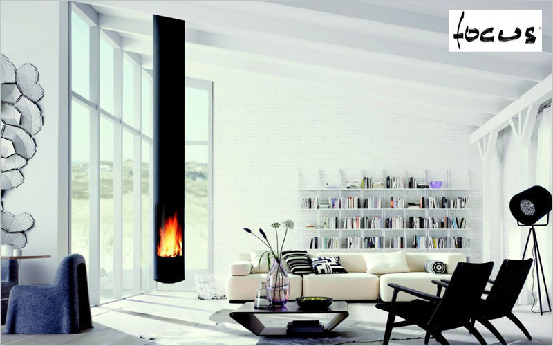 Focus Wood burning stove Stoves, hearths, enclosed heaters Fireplace  | Design Contemporary