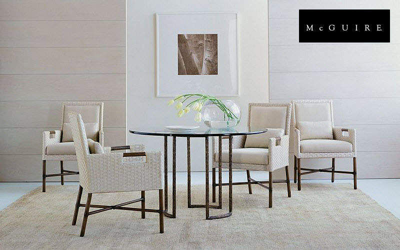 McGUIRE Dining room Dining tables Tables and Misc. Dining room | Design Contemporary