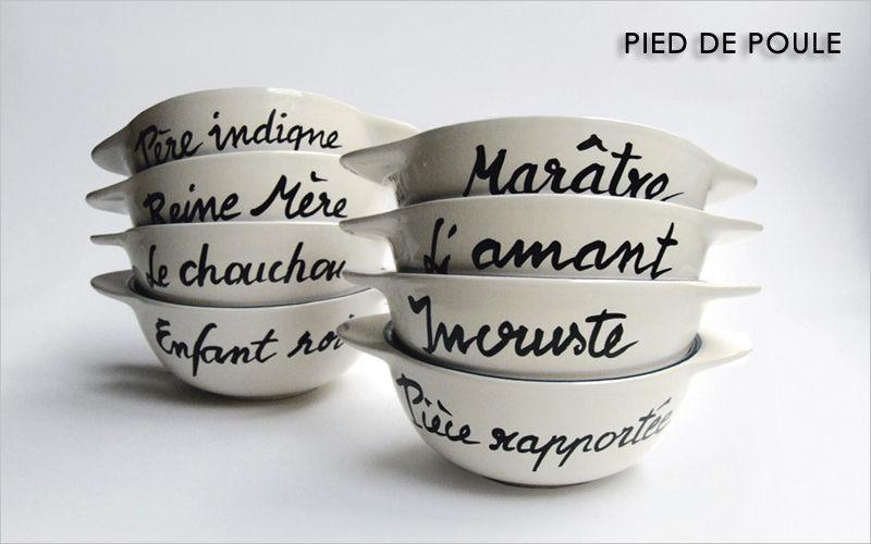 PIED DE POULE Bowl Bowls Crockery  |