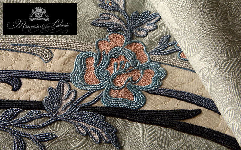 Marquise de Laborde Embroidery Furnishing fabrics Curtains Fabrics Trimmings  |