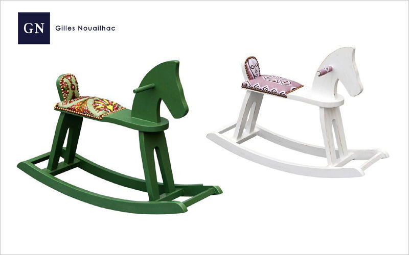 Gilles Nouailhac Rocking Horse Various toys and games Games and Toys  |