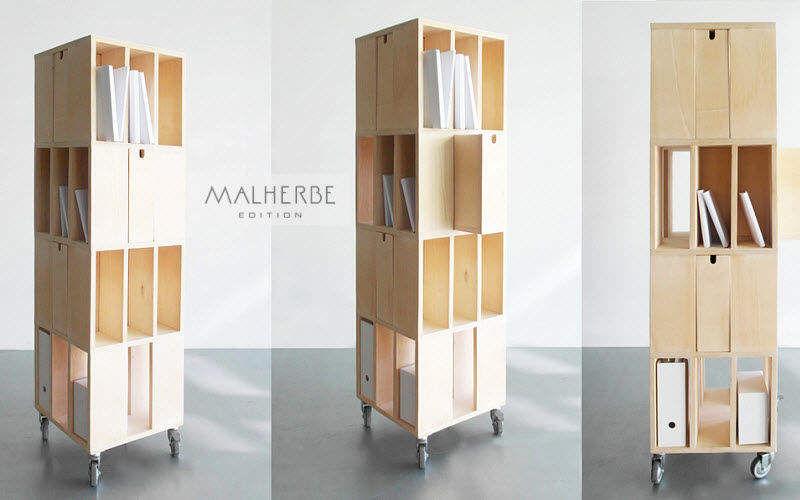 MALHERBE EDITION Revolving bookcase Bookcases Storage  |
