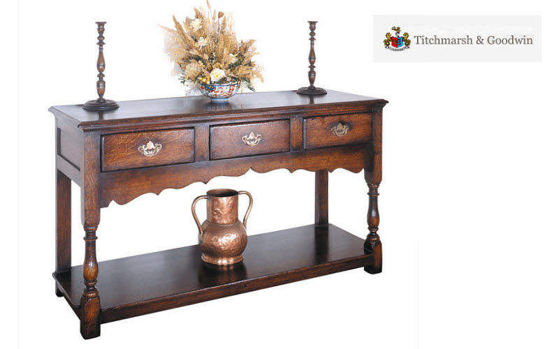 Titchmarch & Goodwin Drawer console Consoles Tables and Misc.  |