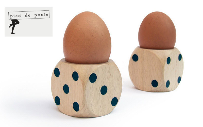 PIED DE POULE Egg cup Egg cups Crockery  |